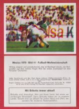 West Germany v Peru Reinhard Libuda 11
